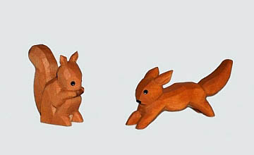Eichhörnchen von Lotte Sievers-Hahn