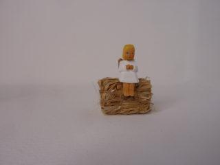 Engel sitzend blond von Lotte Sievers-Hahn