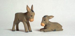 Esel klein von Lotte Sievers-Hahn