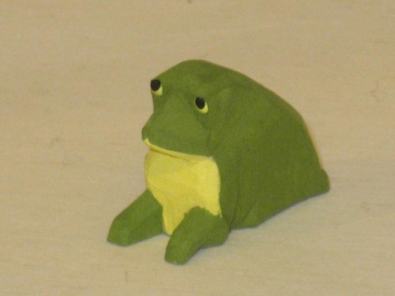 Frosch von Lotte Sievers-Hahn