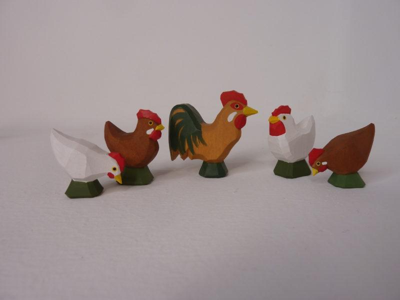 Hühner und Hahn neu von Lotte Sievers-Hahn