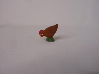 Huhn braun pickend von Lotte Sievers-Hahn