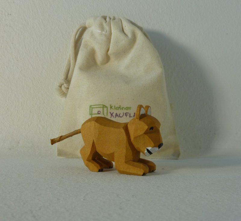 Löwen-Kind spielend von Lotte Sievers-Hahn