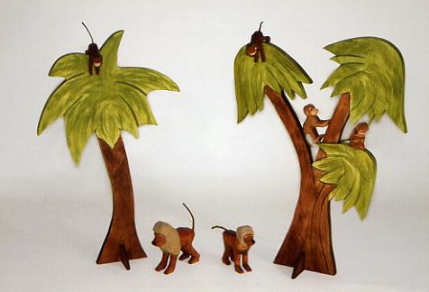 Palmen von Lotte Sievers-Hahn