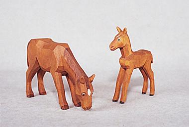 Pferde hell
