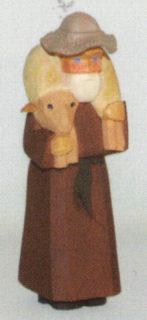 Schäfer mit Schaf