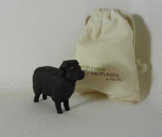 Schaf schwarz stehend Lotte Sievers Hahn
