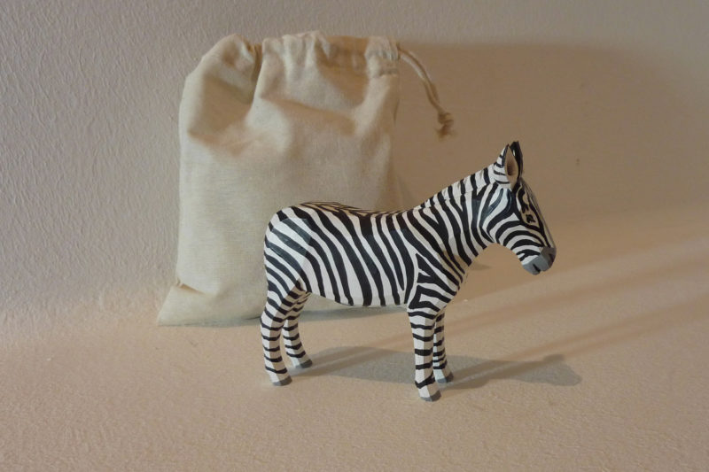 Zebra groß von Lotte Sievers-Hahn